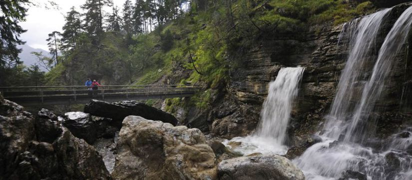 The Kuhflucht Waterfalls and Woodland Experience Trail