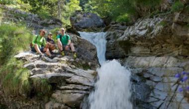 Kuhflucht waterfalls